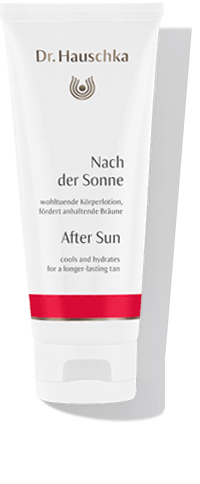 Dr. Hauschka After sun: cools and hydrates for a longer-lasting tan