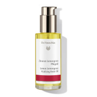 Dr. Hauschka Lemon Lemongrass Vitalising Body Oil: firms even cellulite-affected areas