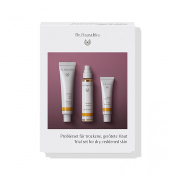 Dr. Hauschka Trial set for dry, reddened skin