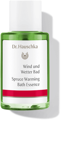 Dr. Hauschka Spruce Warming Bath Essence. 100% natural cosmetics with real spruce oil.