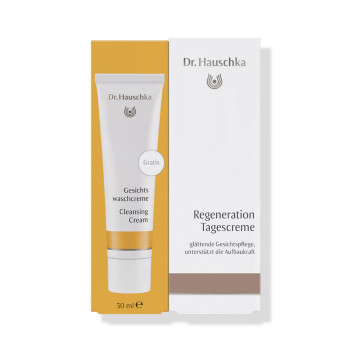 Dr. Hauschka Regenerating Day Creamwith free Cleansing Cream