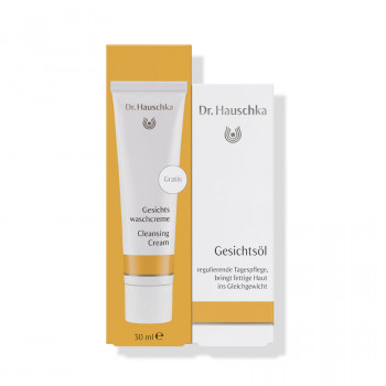 Dr. Hauschka Clarifying Day Oil with free Cleansing Cream