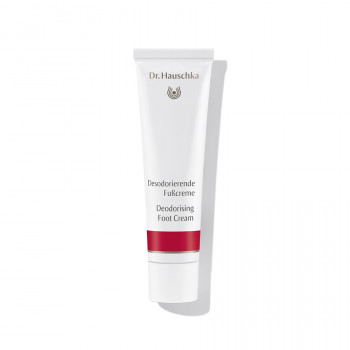 Dr. Hauschka Deodorising Foot Cream - an antiperspirant for feet, free from aluminium salts