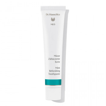 Natural dental care from Dr.Hauschka MED: Mint Refreshing Toothpaste