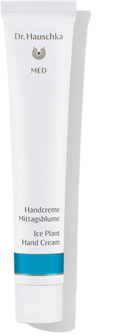 Dr. Hauschka Ice Plant Hand Cream, which nourishes and strengthens very dry hands