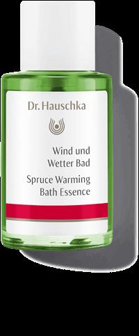 Dr. Hauschka Wind und Wetter Bad. 100% Naturkosmetik mit echtem Fichtennadelöl.