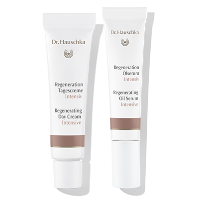Regenerating Day Cream Intensive & Regenerating Oil Serum Intensive Trial sizes