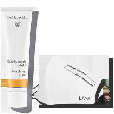Dr.Hauschka Revitalisierende Maske & LANA Bedarfsmaske
