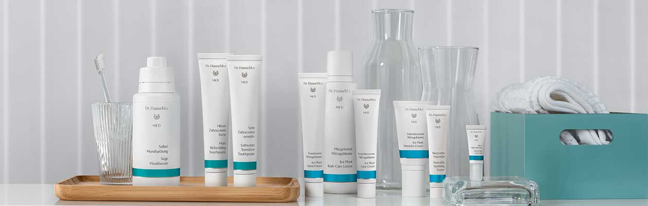 Dr. Hauschka MED – provides medical care products derived from nature