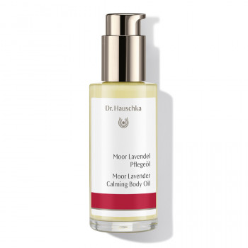 Dr. Hauschka Moor Lavender Calming Body Oil - soothing body oil