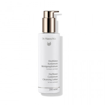 Dr. Hauschka Hayflower Cardamom Cleansing Lotion