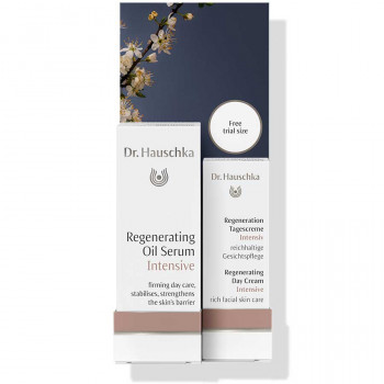 Dr. Hauschka Regenerating Oil Serum Intensive with gift