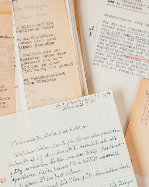 Briefe von Dr. Rudolf Hauschka