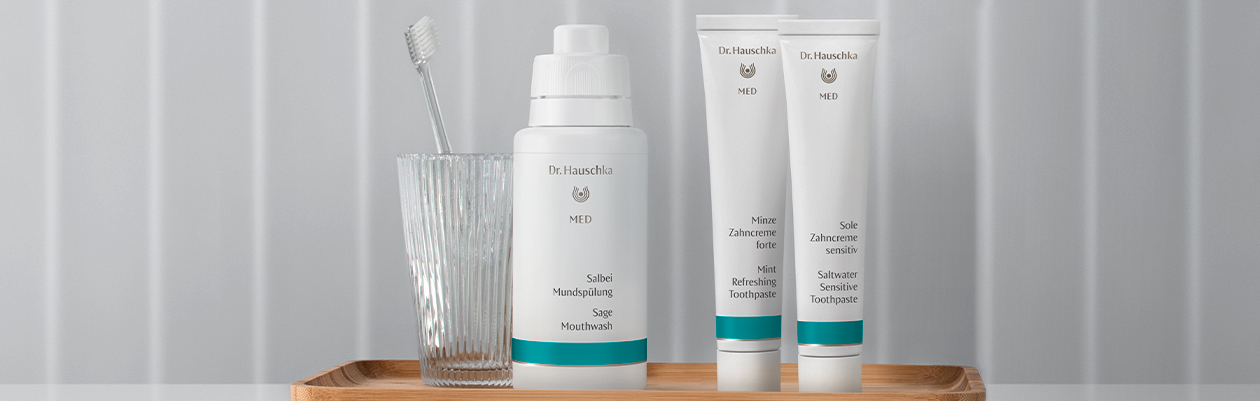 Dr. Hauschka MED Oral & dental care – new design